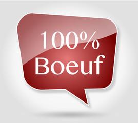 Bulle 100% Boeuf