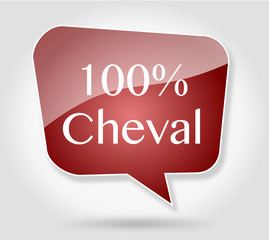 Bulle 100% Cheval