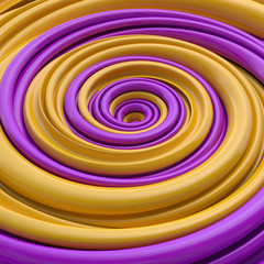 abstract funny candy spiral background © wacomka