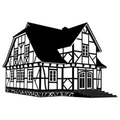 Altes Fachwerkhaus ~ Haus ~ Fachwerk ~ Baukunst