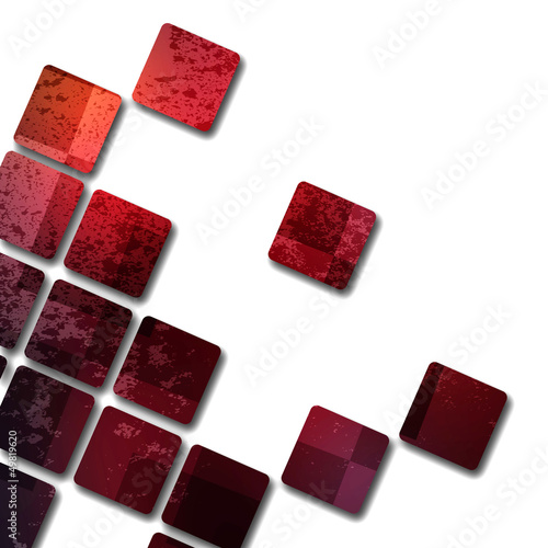 Old grunge background with abstract canvas texture