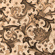 traditional  floral decorative paper, Florence