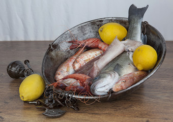 Pesci e limoni
