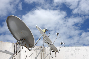 satellite dish receivers