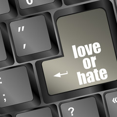 love or hate relationships communication impressions key