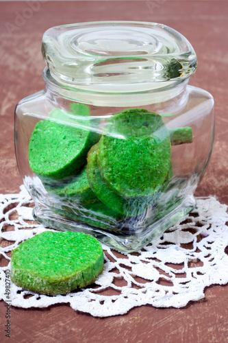 Green Tea Cookies