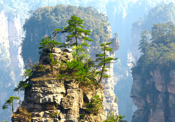 Zhangjiajie National Park, China. Avatar mountains © silver-john