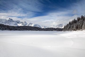 Lago Palù ghiacciato - Valmalenco
