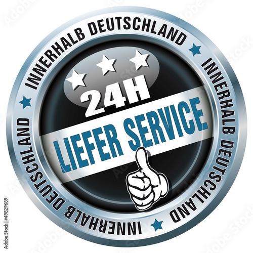 24H - Liefer Service - Buttton