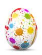 Osterei, Ostern, Ei, Zeichen, Symbol, Klecks, Farbklecks, Farbe