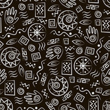 Tribal art . African style seamless pattern.