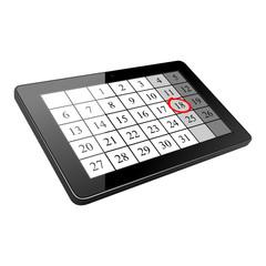 tablet kalender I