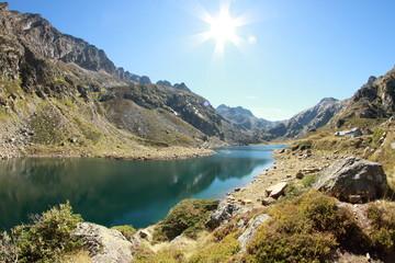 Lac et Refuge Pyrénéen