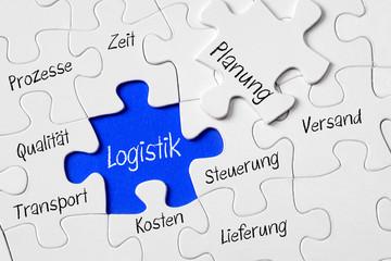 Logistik Konzept