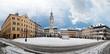 Gera Marktplatz Schnee