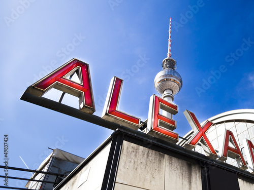 canvas print picture Berlin Alexanderplatz
