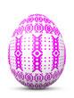 Osterei, Ostern, Ei, Zeichen, Symbol, Muster, Punkte, Violett