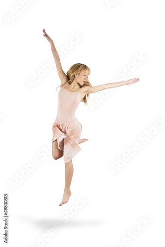 Isolated dancer