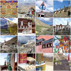 Collage Ladakh - Inde