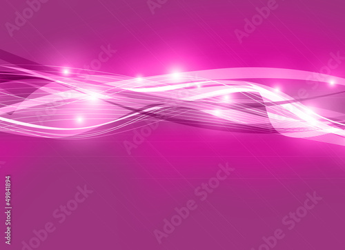 vibrant digital waves