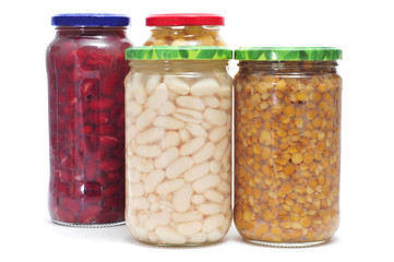 preserved legumes