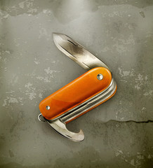 Pocket knife, old-style