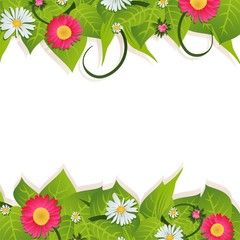 flower 8 march's card