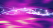 purple abstract wave