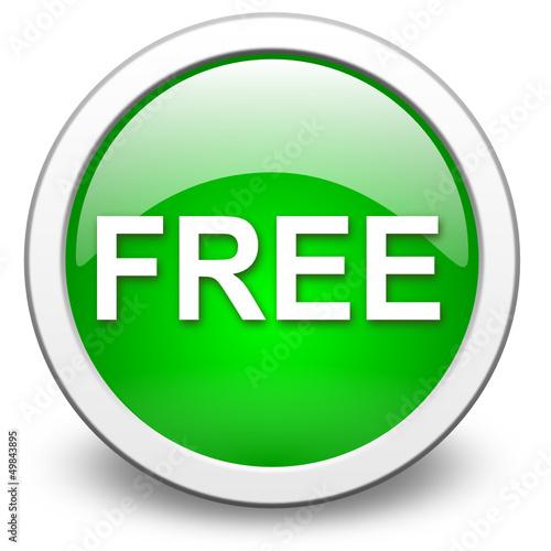 FREE icon, vector