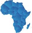 Afrika Karte