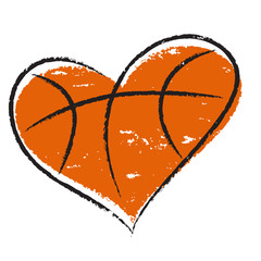 Basketball heart