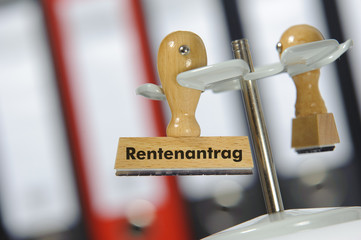 Rente Antrag Rentenantrag Rentenbescheid
