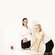 junge Geschäftsfrauen
