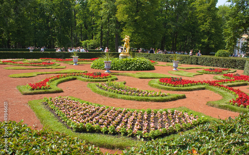 Garden of Peterhof, Russia