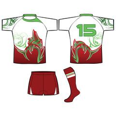 rugby kit uniform design