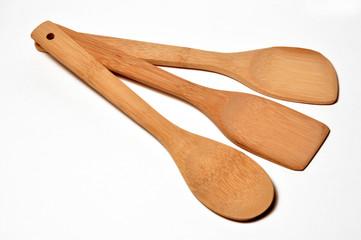 ustensiles en bois pour cuisinier