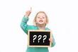 Fragezeichen Kleinkind
