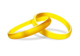 Goldene Ringe Vektorzeichnung