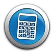 calculette sur bouton bleu