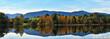 Panorama herbstlicher Allgäu See