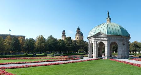Münchner Residenzgarten Pavillion