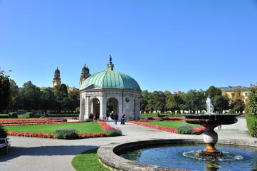 Residenzgarten Pavillion München