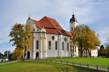 Wieskirche in Bayern