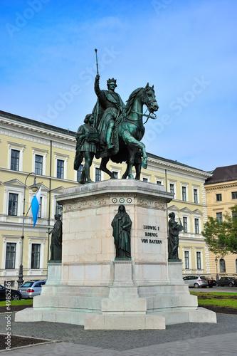Denkmal Ludwig I Leopoldstrasse