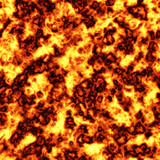 Blazing hot lava background tile pattern