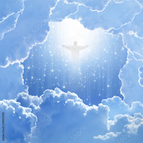 Christ in sky, easter