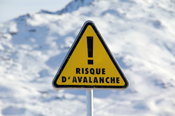 Avalanche sign
