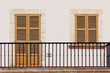 Balkon eines Hauses