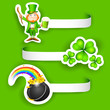 Saint Patrick's Day Label