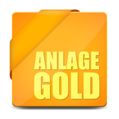button eckig anlage gold I